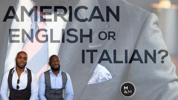 American English or Italian
